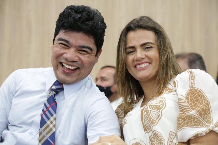 Pastor Samuel Mariano e sua esposa, Isabela Mariano - Foto: Reprodução