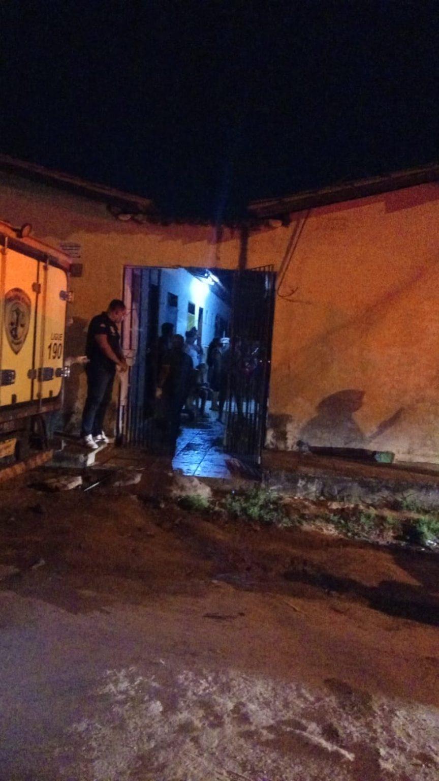 Criança de 8 anos é morta após incêndio em residência no bairro Cidade Operária, em São Luís. (Foto: Divulgação/ Polícia Militar do Maranhão)
