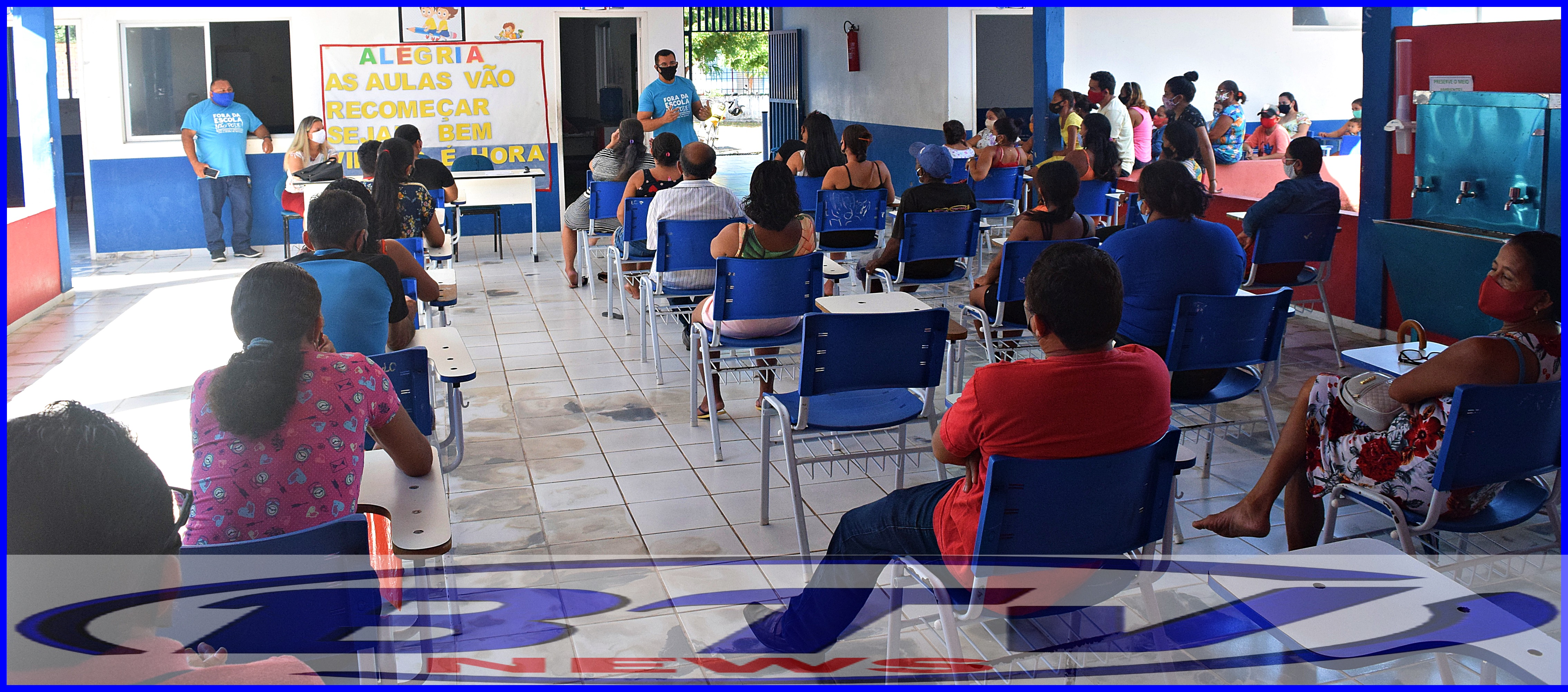 Início do segundo semestre de 2021 será marcado pelo retorno presencial dos alunos da Rede Municipal em São Benedito do Rio Preto